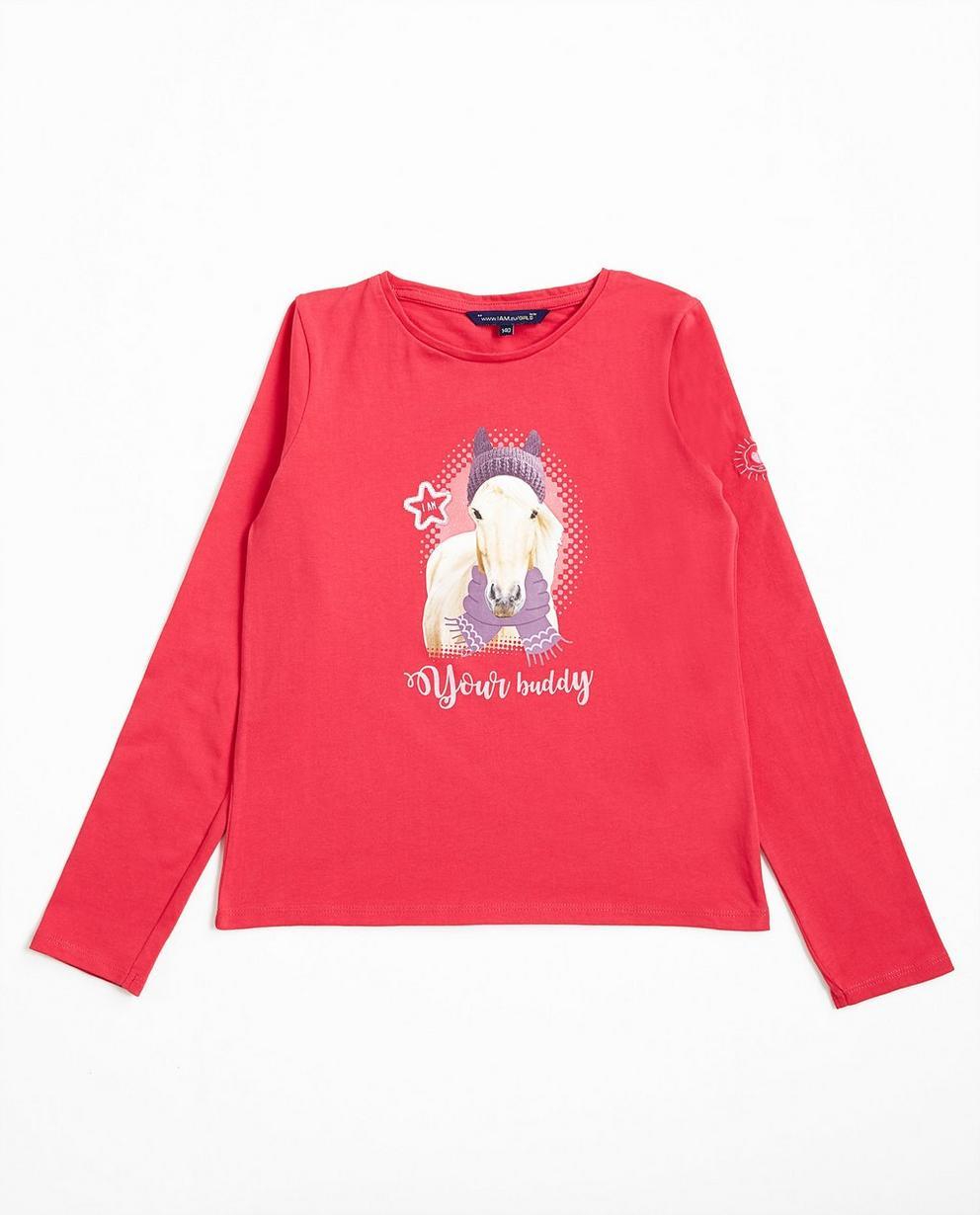 T-shirt à manches longues - rose foncé, I AM - I AM